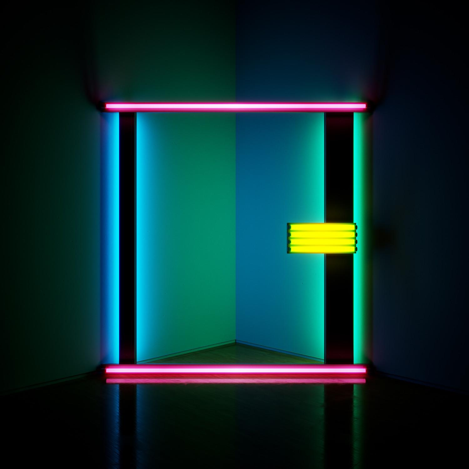 "dan flavin, ""untitled (to barbara lipper)"" (1973)"