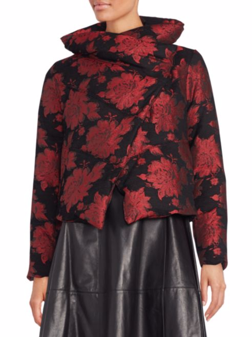This Alice and Olivia jacket is snazzy enough for holiday parties. And it's on mad sale.