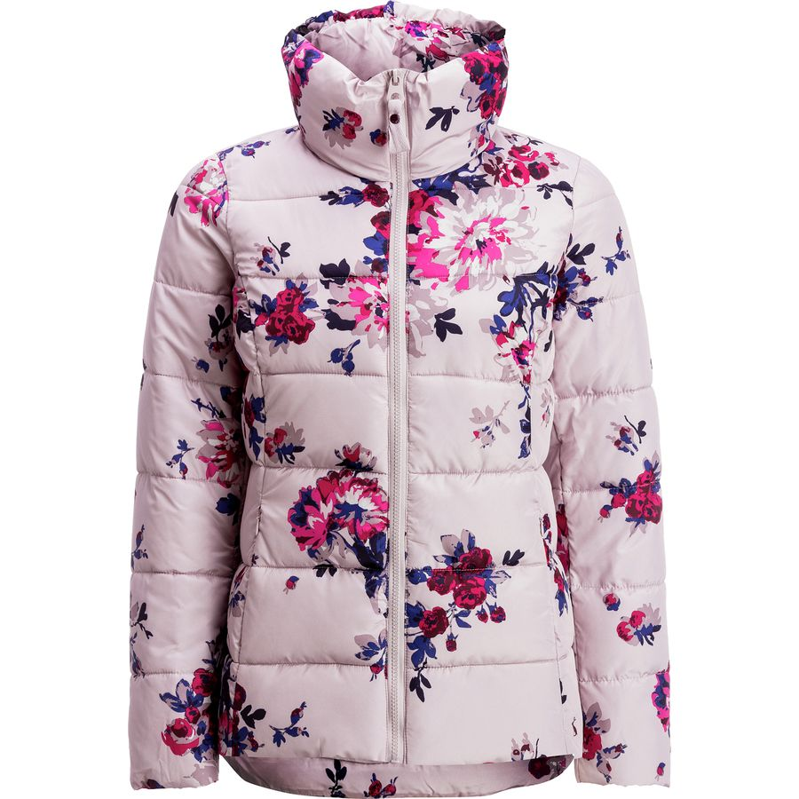 Joules is a British brand that also makes great wellies that aren't super costoso. Their jackets are synthetic (not down) which is great for the vegans among us. They also have printed insulated vests.