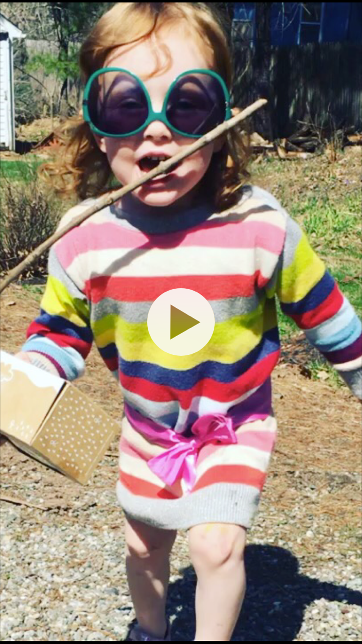 I used to have a baby business, one where I dressed up as if I knew what I was doing and was incredibly tenacious (hence the stick in this image).