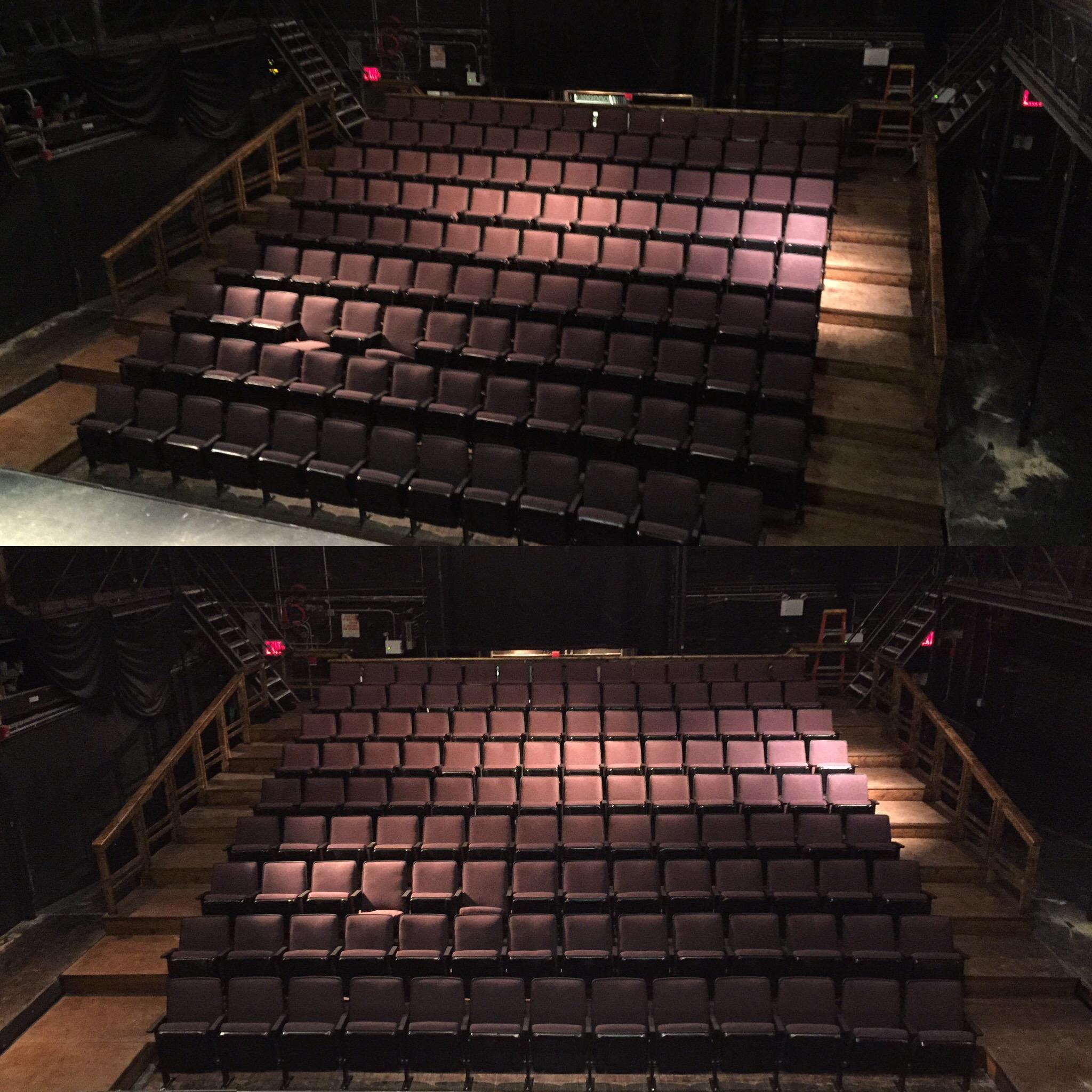 Chernuchin Theater Seating Renovation