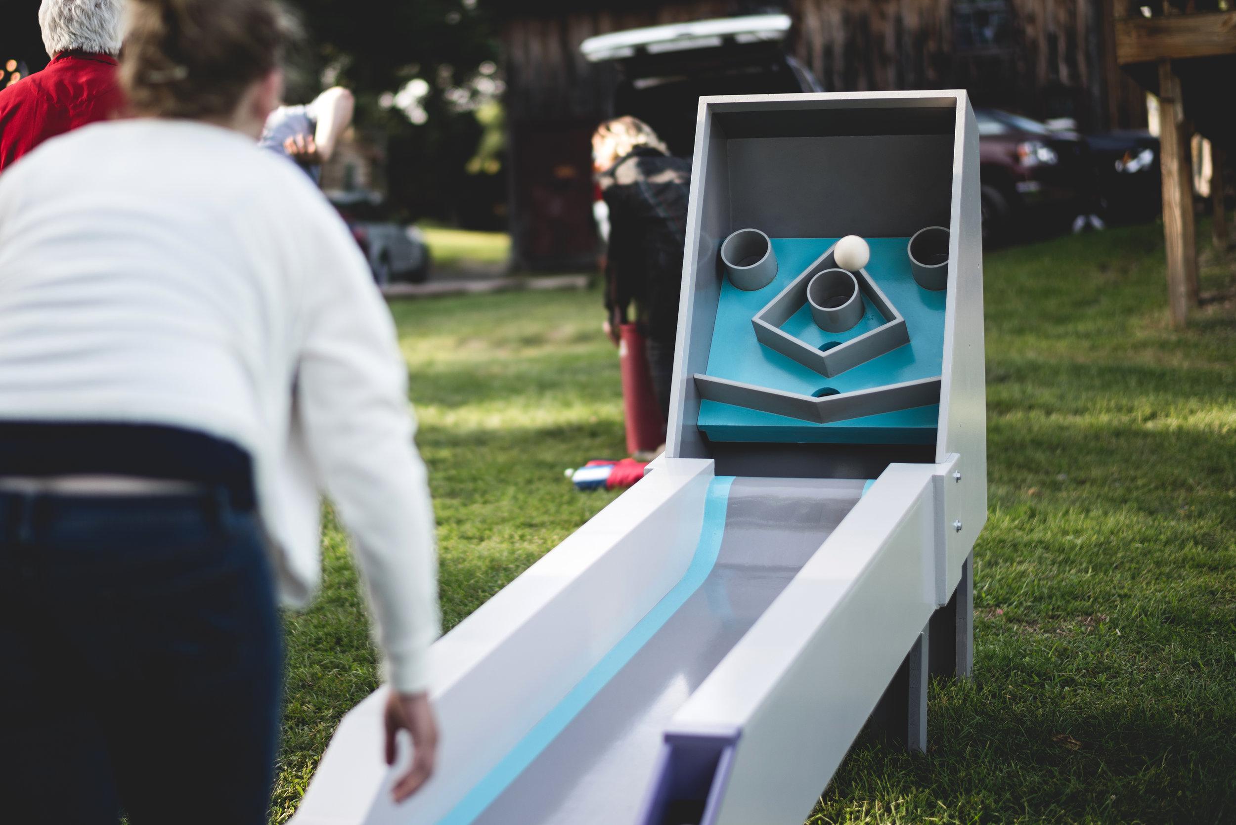 Burkson Skee Ball Machine