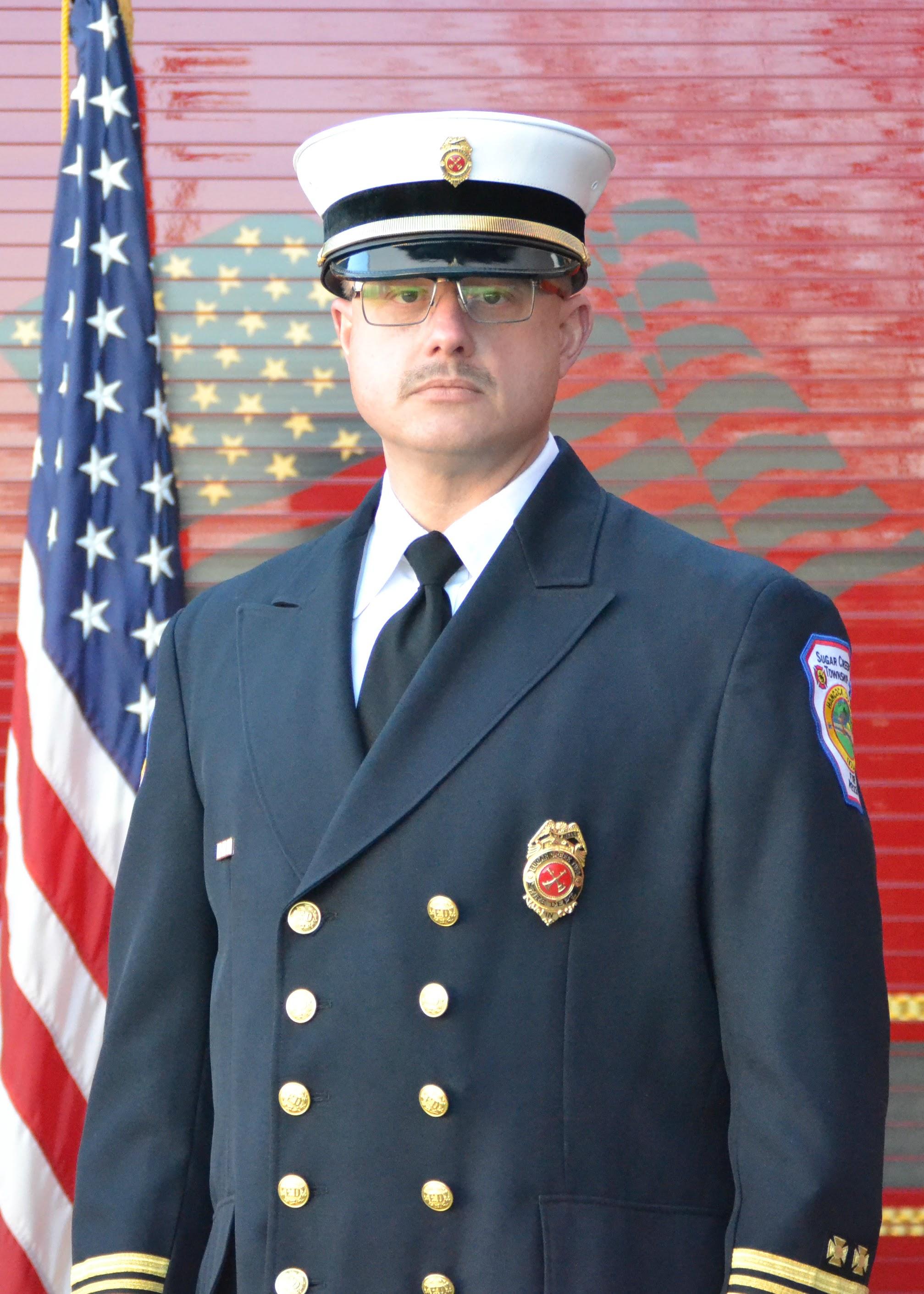 Battalion Chief Darrin Winkle -Maintenance-