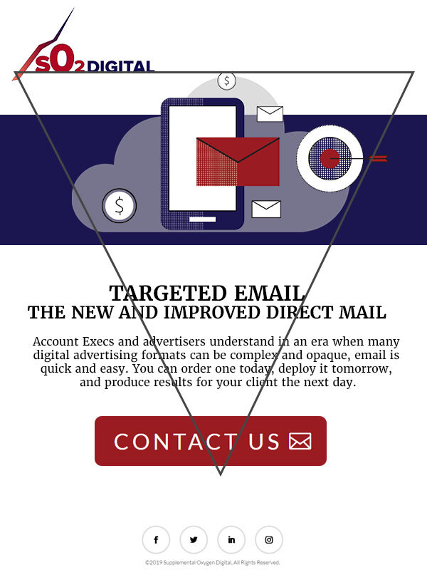 Best Practice Email - I designed this email to showcase the inverted pyramid layout, one of the best promotional email layouts. This email design was used in training decks for clients and account managers.