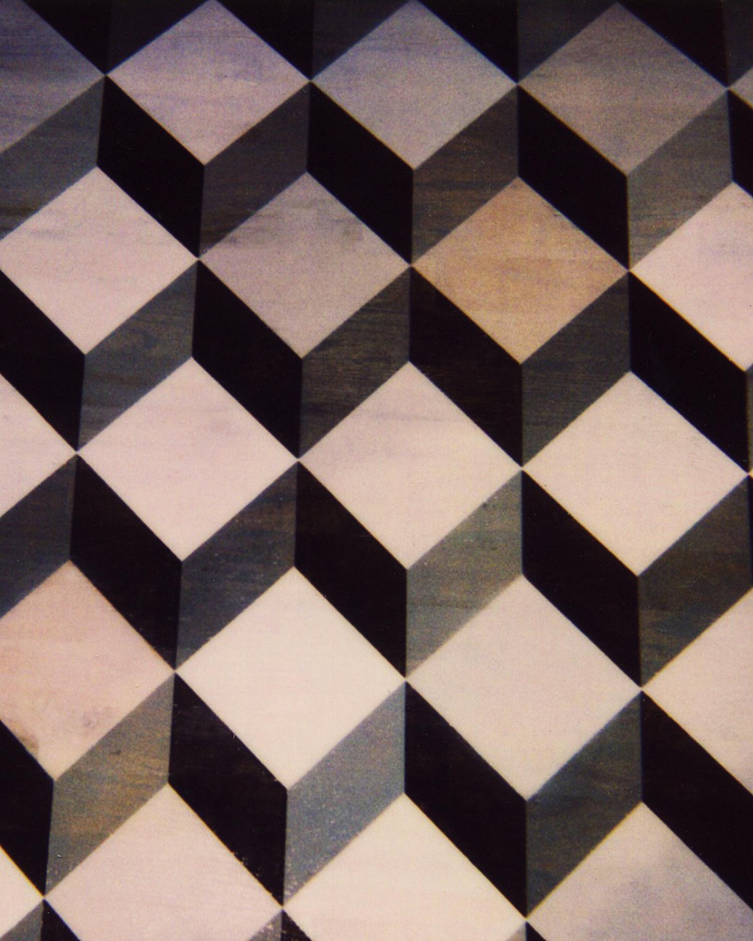 Tumbling Blocks Floor