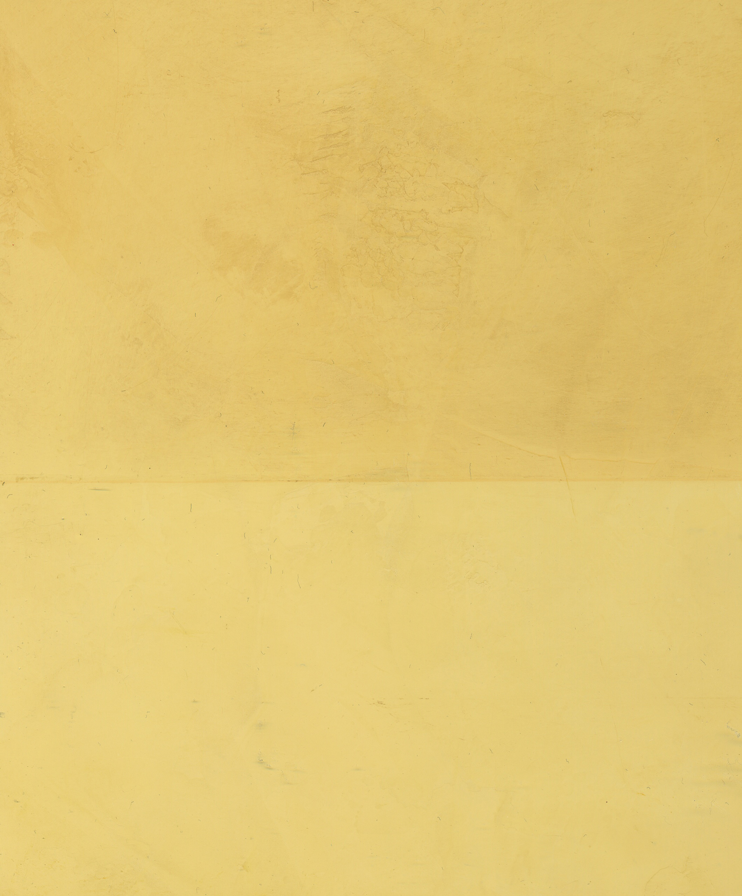 Italian Yellow Venetian Plaster with and without Neutral Wax