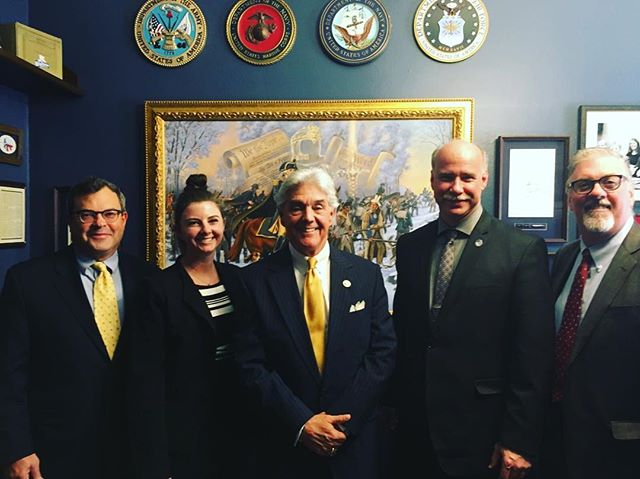 SFC leadership with the Original Sponsor of #HR1360 #TheSellerFinanceEnhancementAct Congressman Roger Williams