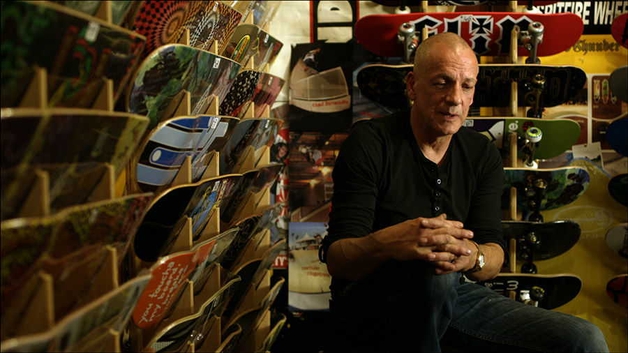 "Clive Rowen , the ""godfather of skateboarding in Ireland"""