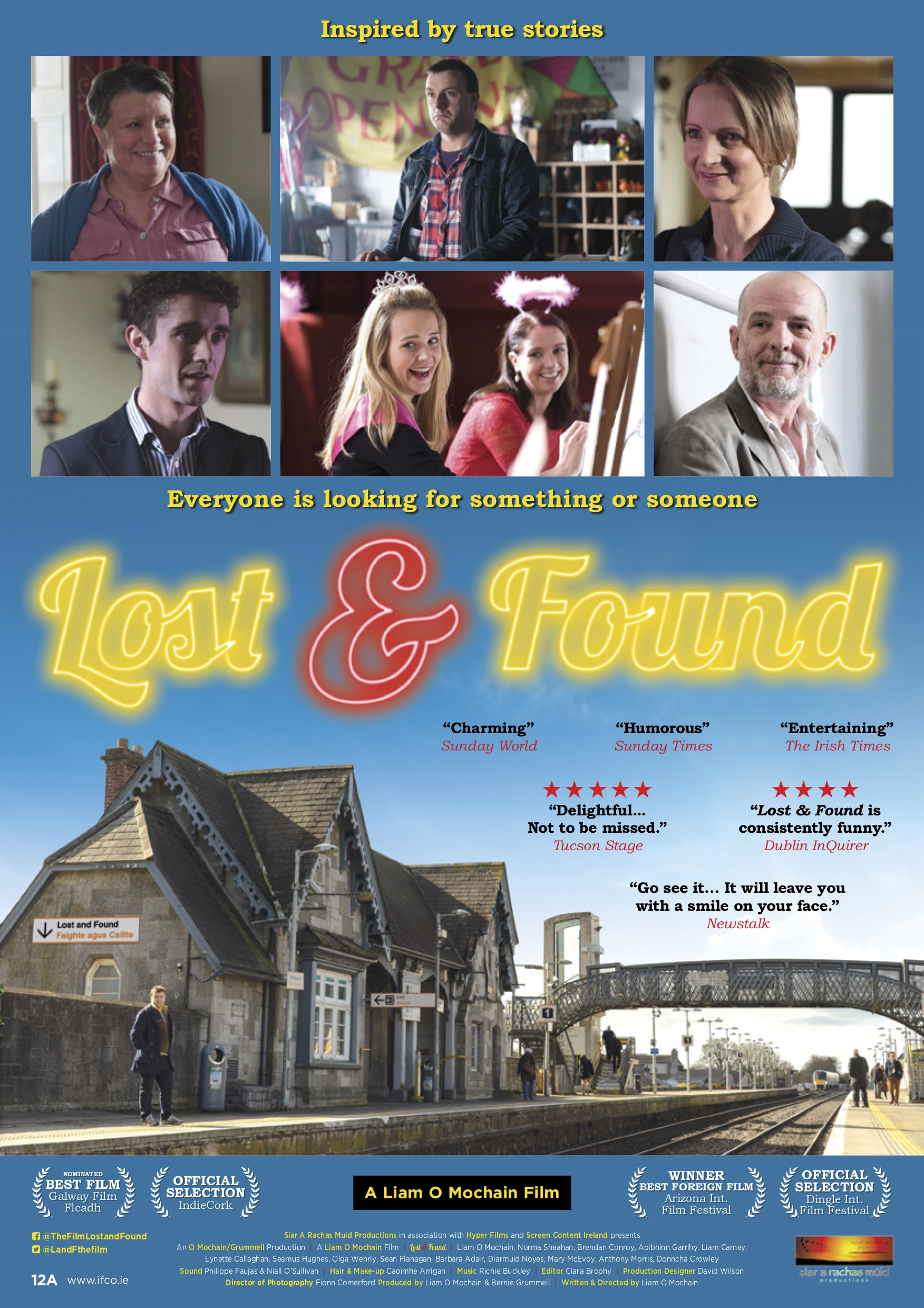 Lost & Found will be screened at the Capital Irish Film Festival, Friday, March 1 at 5 p.m.