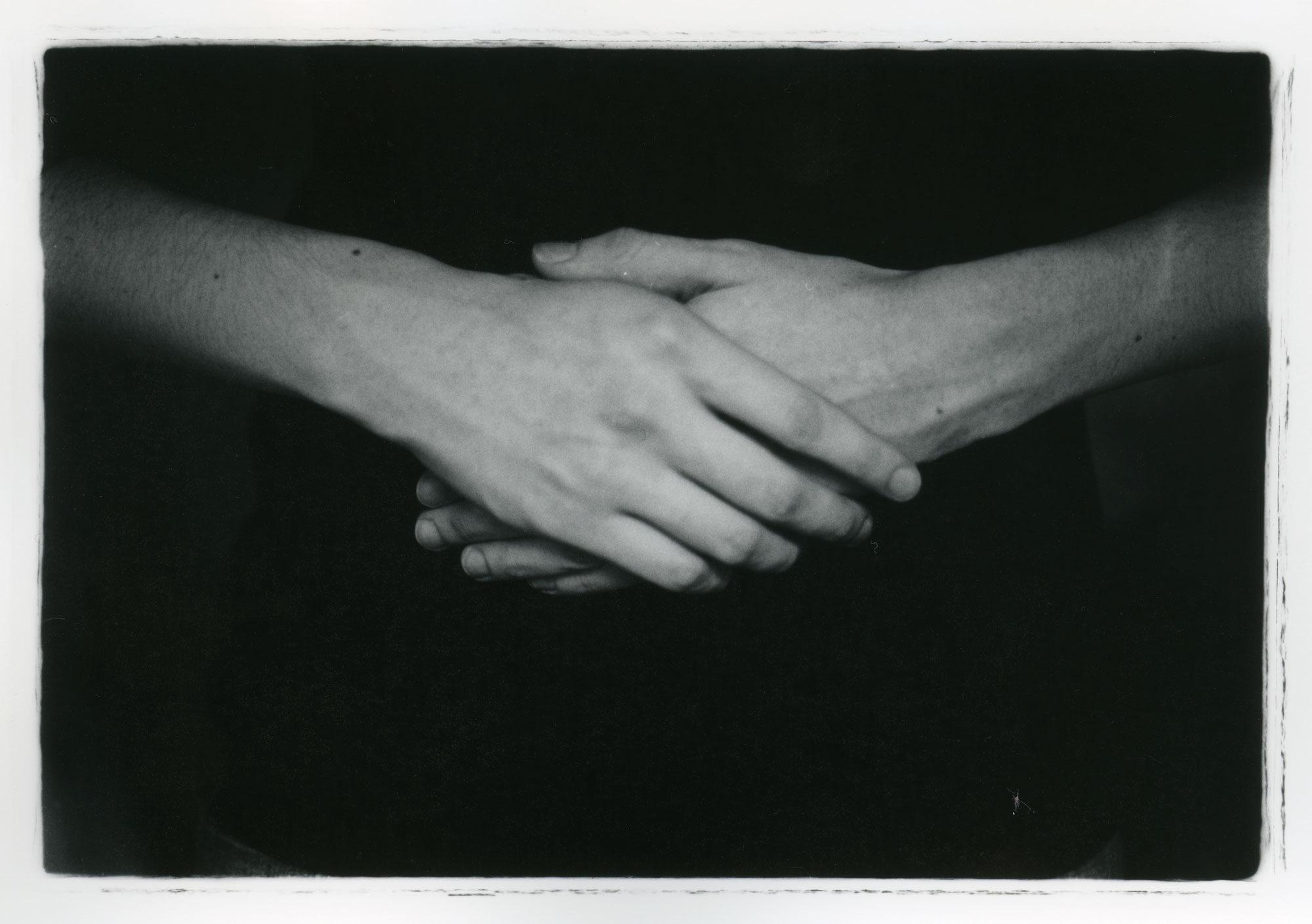Afternoon Hands    Silver Gelatin Print, 2014
