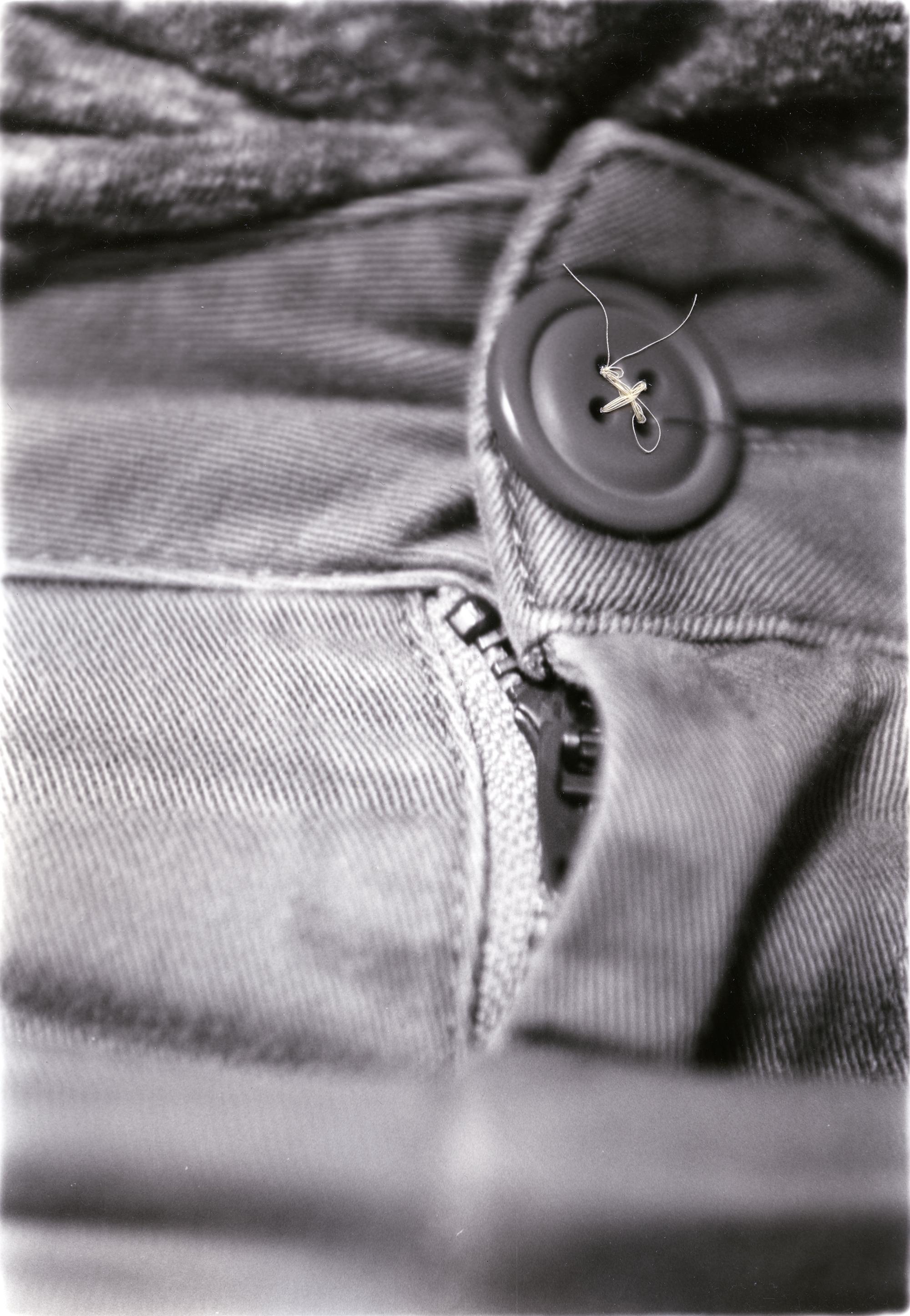 Fitting    Silver Gelatin Print, Thread, 2014
