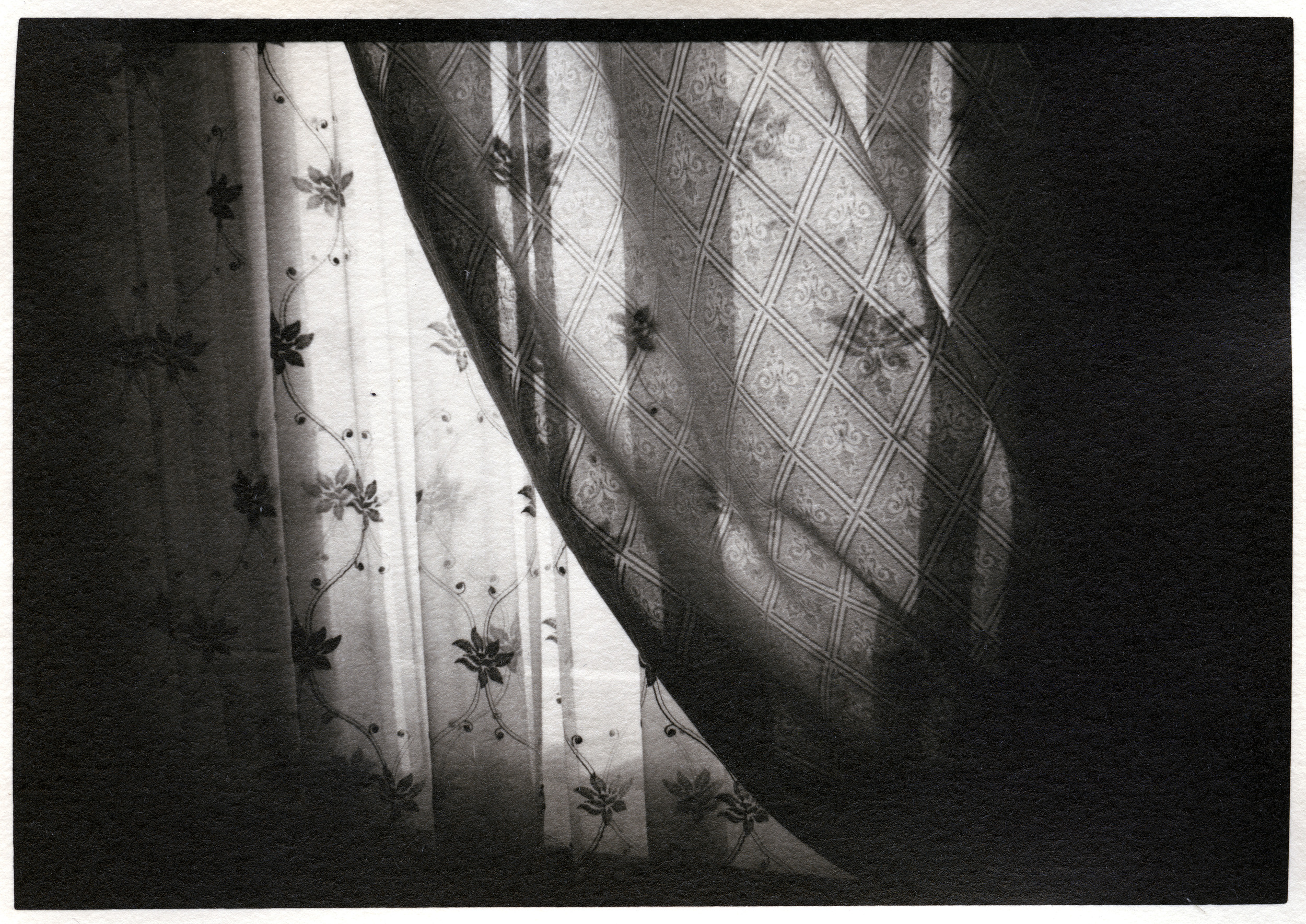 Curtains     Silver Gelatin Print, Switzerland, 2014