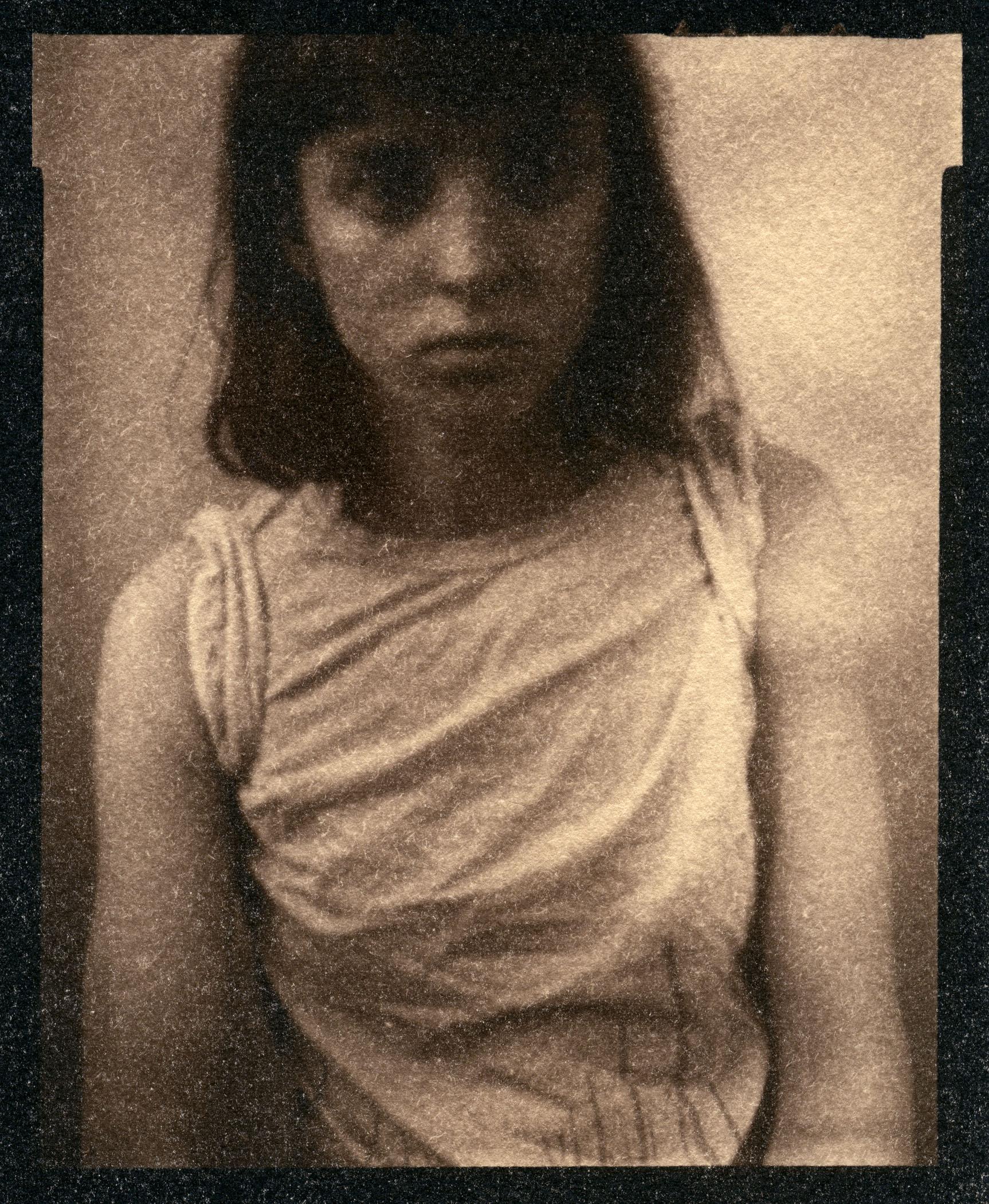 Self Portrait    Toned Cyanotype, 2015