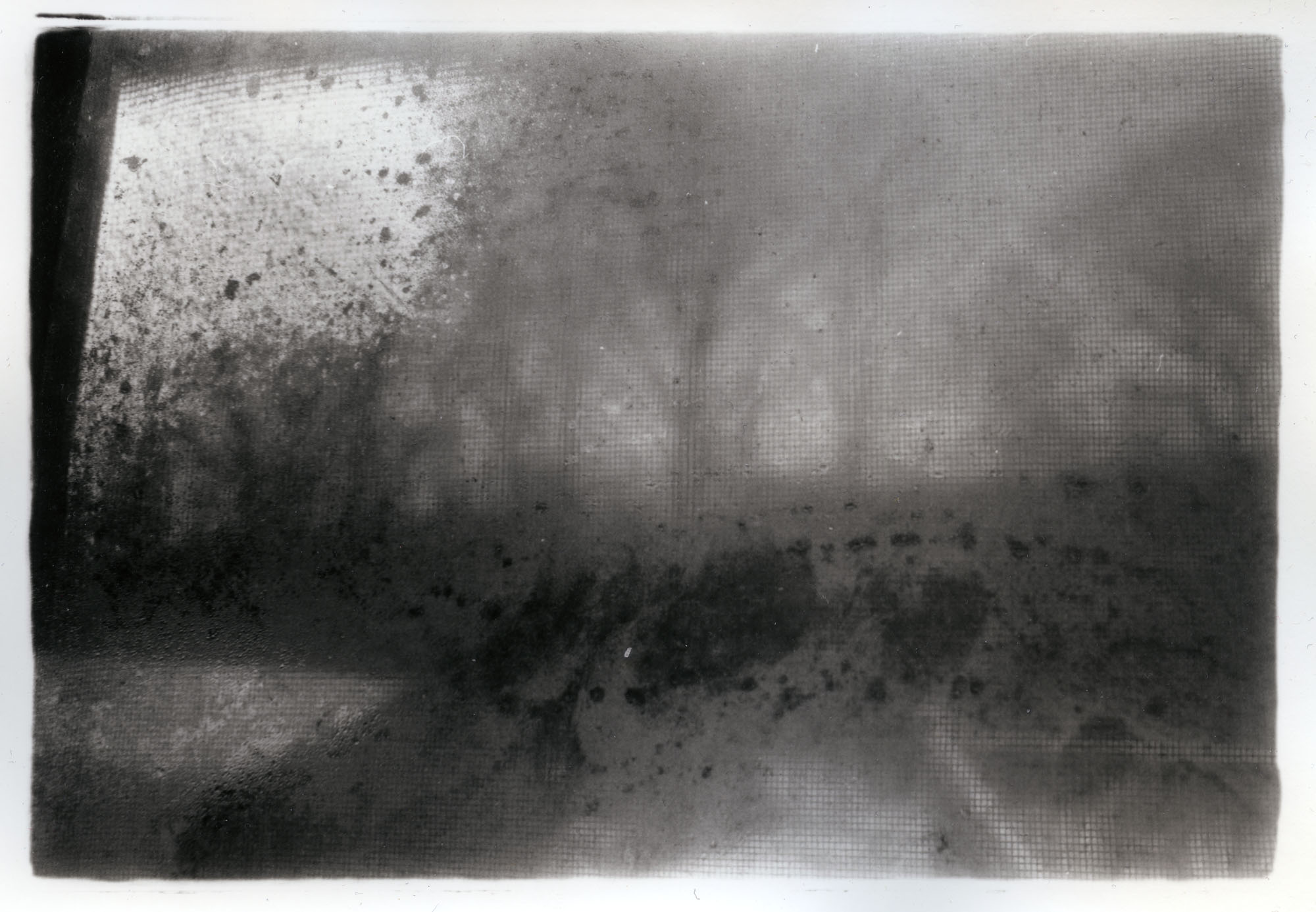Fogged Window    Silver Gelatin Print, NJ, 2015