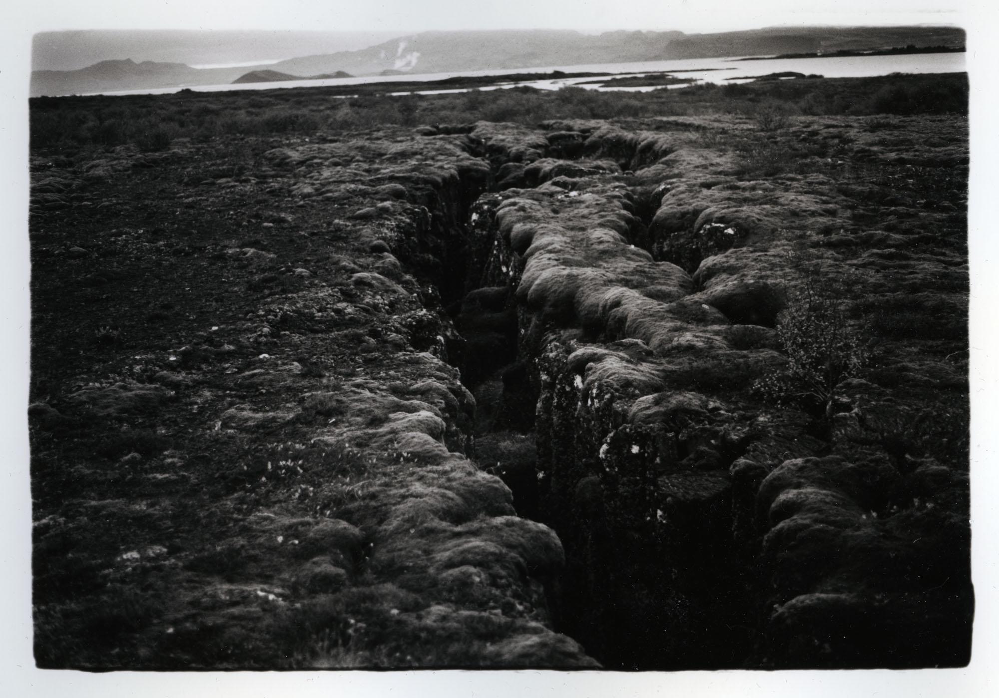 The Plates    Silver Gelatin Print, Iceland, 2015