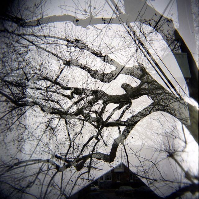 Photographs of 51st Street (2008) ⠀⠀⠀⠀⠀⠀⠀⠀⠀ ⠀⠀⠀⠀⠀⠀⠀⠀⠀ ⠀⠀⠀⠀⠀⠀⠀⠀⠀ #filmphotography #holga #120film #doubleexposure #mediumformat #analogphotography
