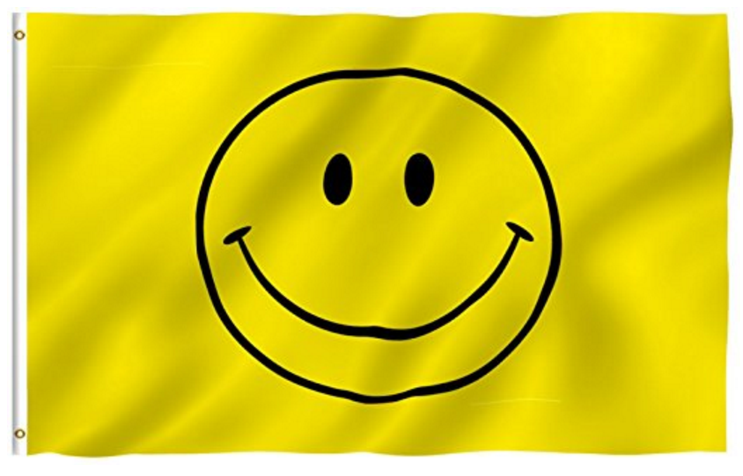 Will you wear the smile of honor? The official Honor Connor 5k Smile Flag is reserved exclusively for the six overall winners. (Run fast!)
