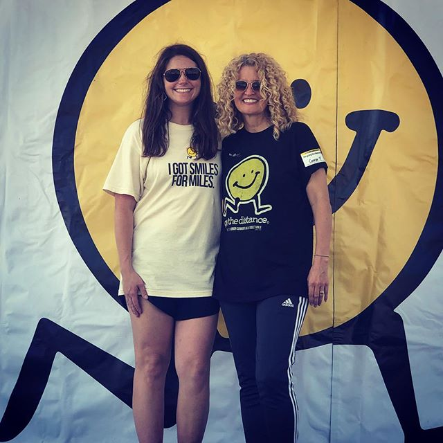 Connor's momma and founder of The LV Project, Dana Gage, with race director extraordinaire, Shelby Driver. #teamworkmakesthedreamwork #honorconnor2019 #theLVproject #workingtogetherforgood #bebuoyant