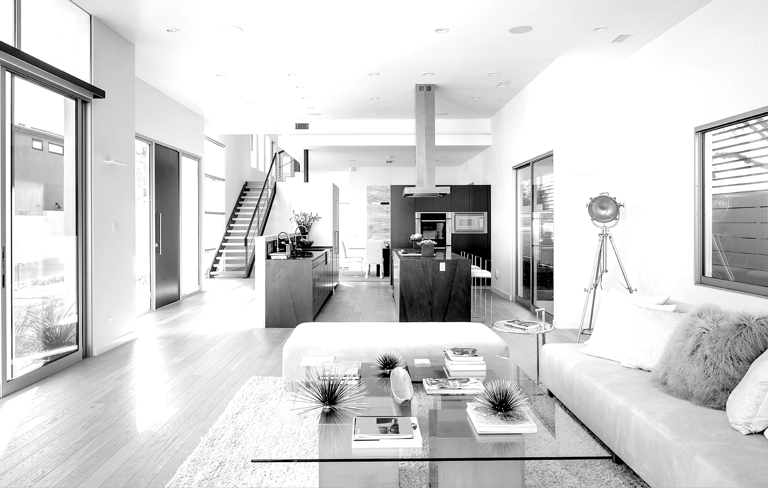 mountain view ave living room home design & build los angeles