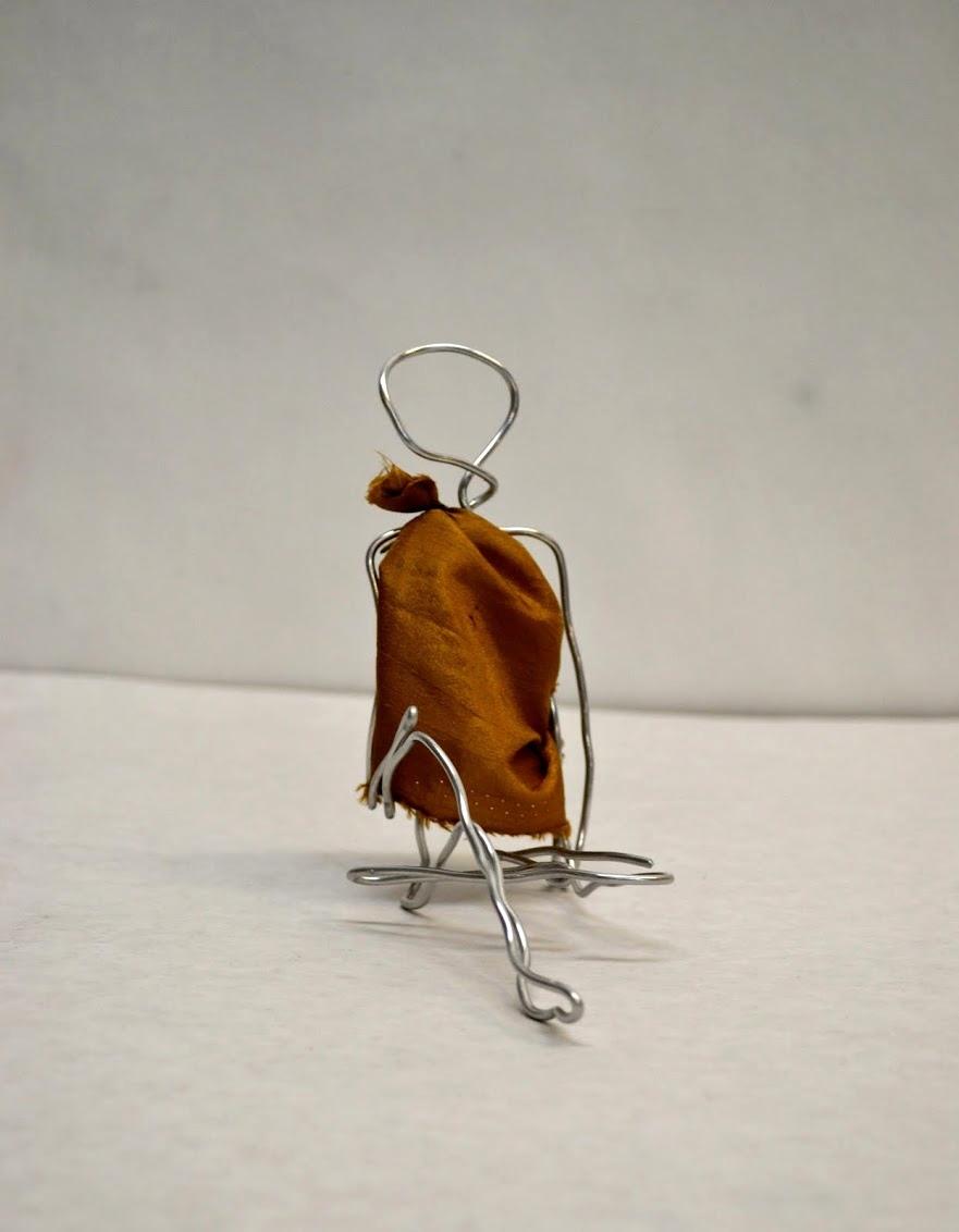high school- wire sculpture