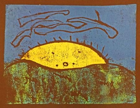 2nd grade- print making