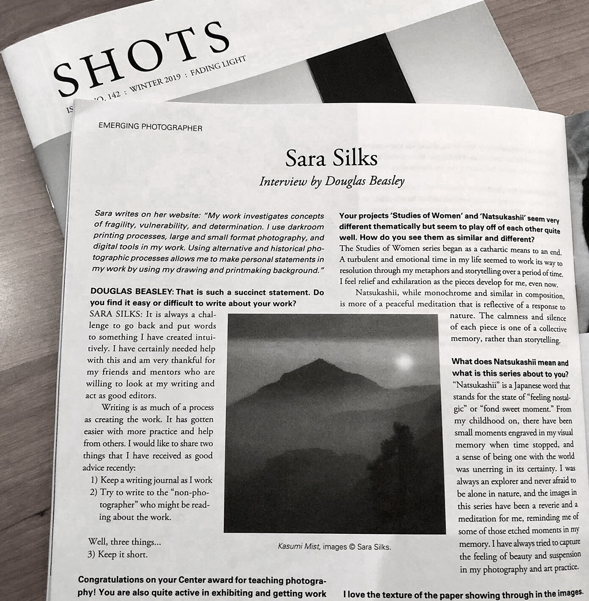 SHOTS Magazine FEATURE: EMERGING ARTIST