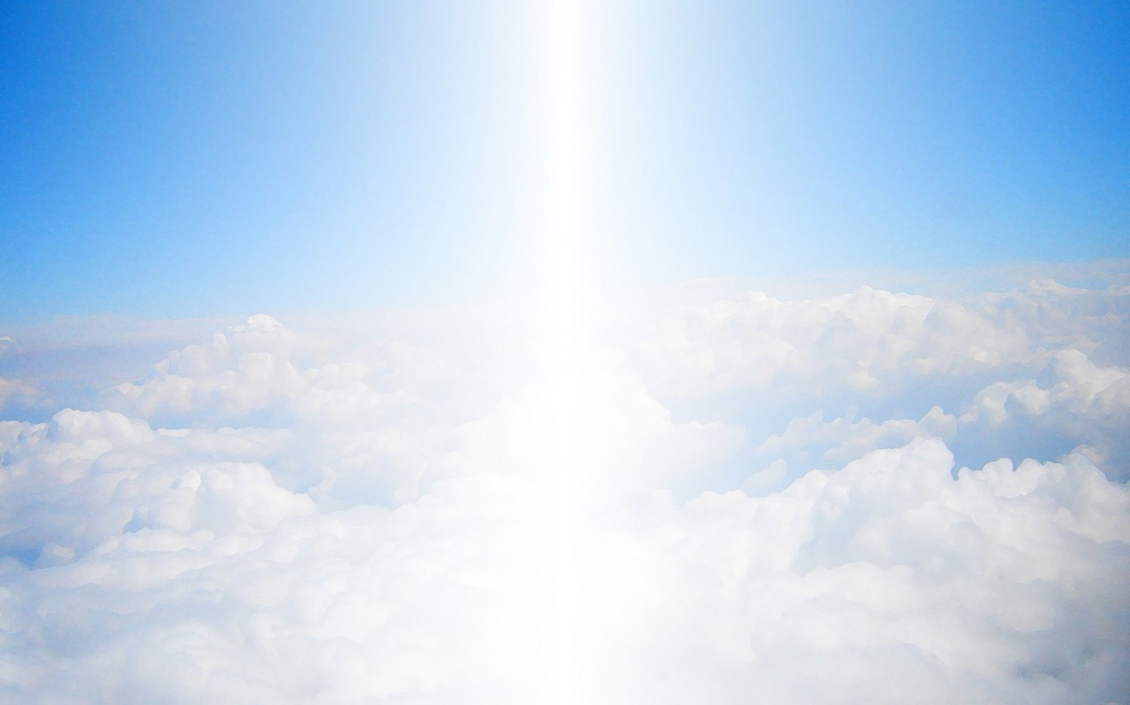 Click on the clouds to learn about Angels...