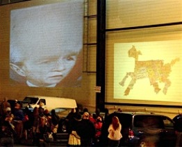 sick puppy projected alongsideState of the Union 2006