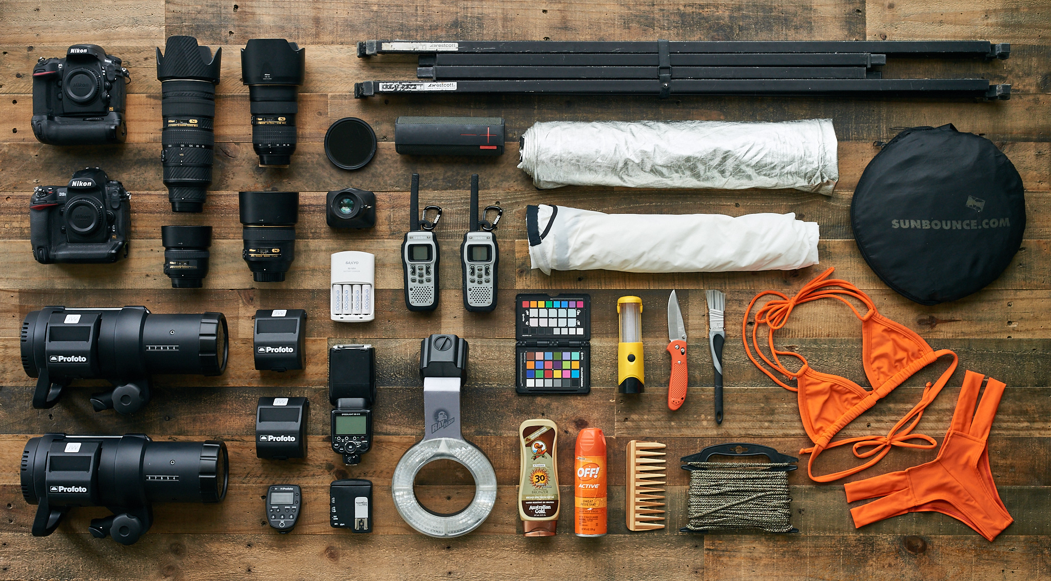 Joey Wright Photography Gear