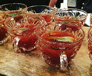Rocky Mountain Sage Punch  from Dustin Lawlor of The Kitchen