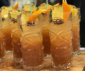 High Thai'd  Gia St. George of Black Market Liquor Bar