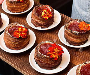 Bourbon Bacon Cherry Pie Punch  Ben Potts of Beaker & Gray