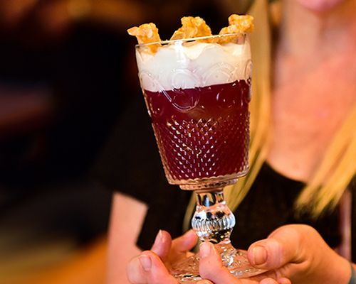 WINNING PUNCH RECIPE  by Rachel Sergi of The Next Whiskey Bar