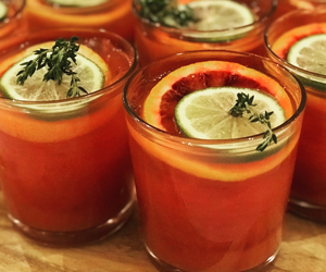 A Shrub of Thyme Punch   Trey Roland of Henry's Majestic