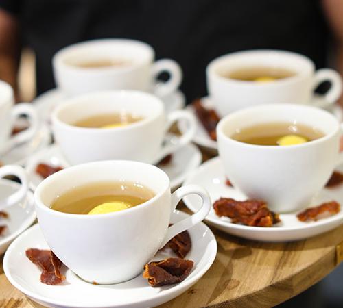 Apres Tea Punch  Ben Potts of Beaker & Gray
