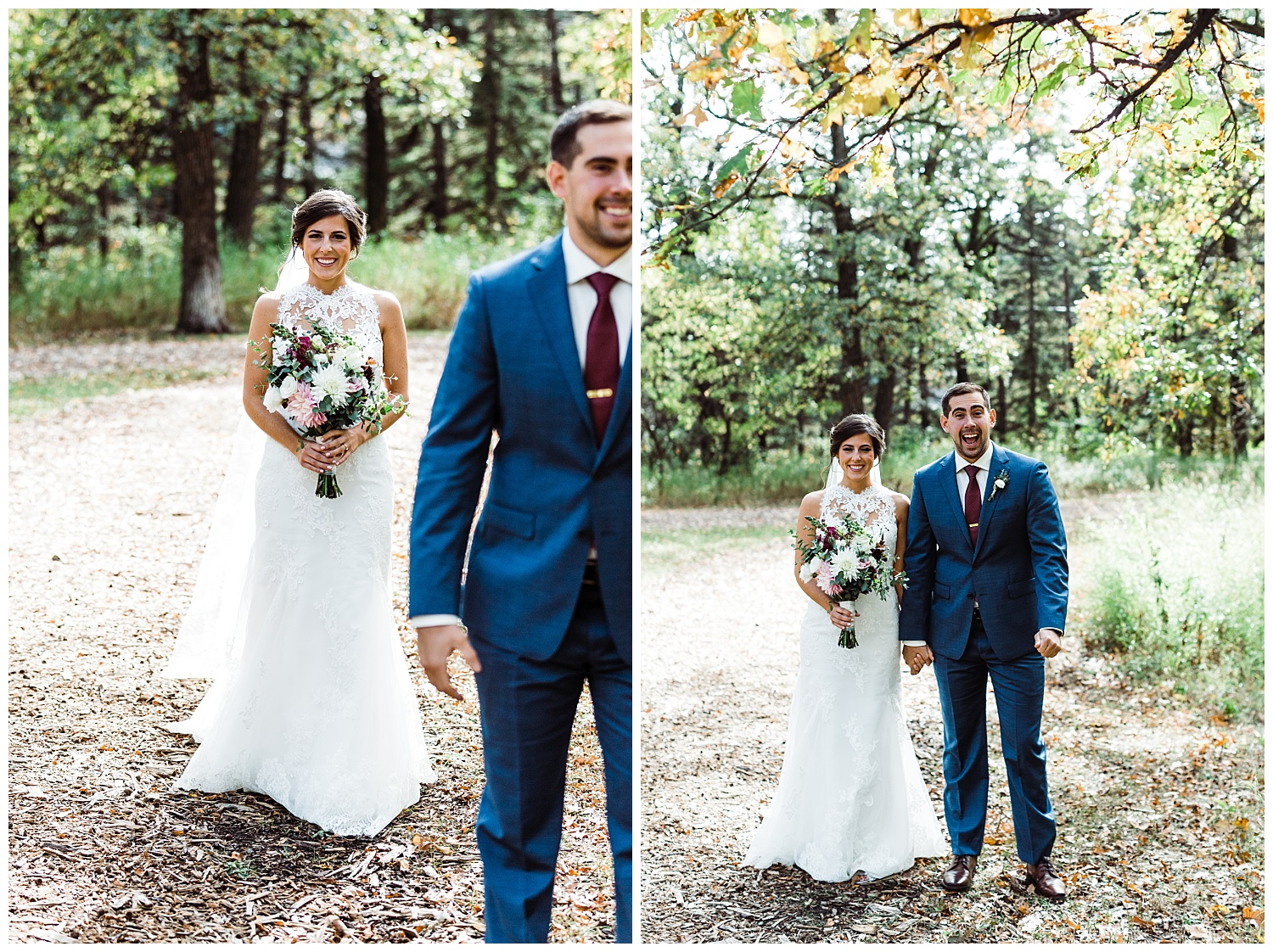 First look wedding winnipeg fall niakwa
