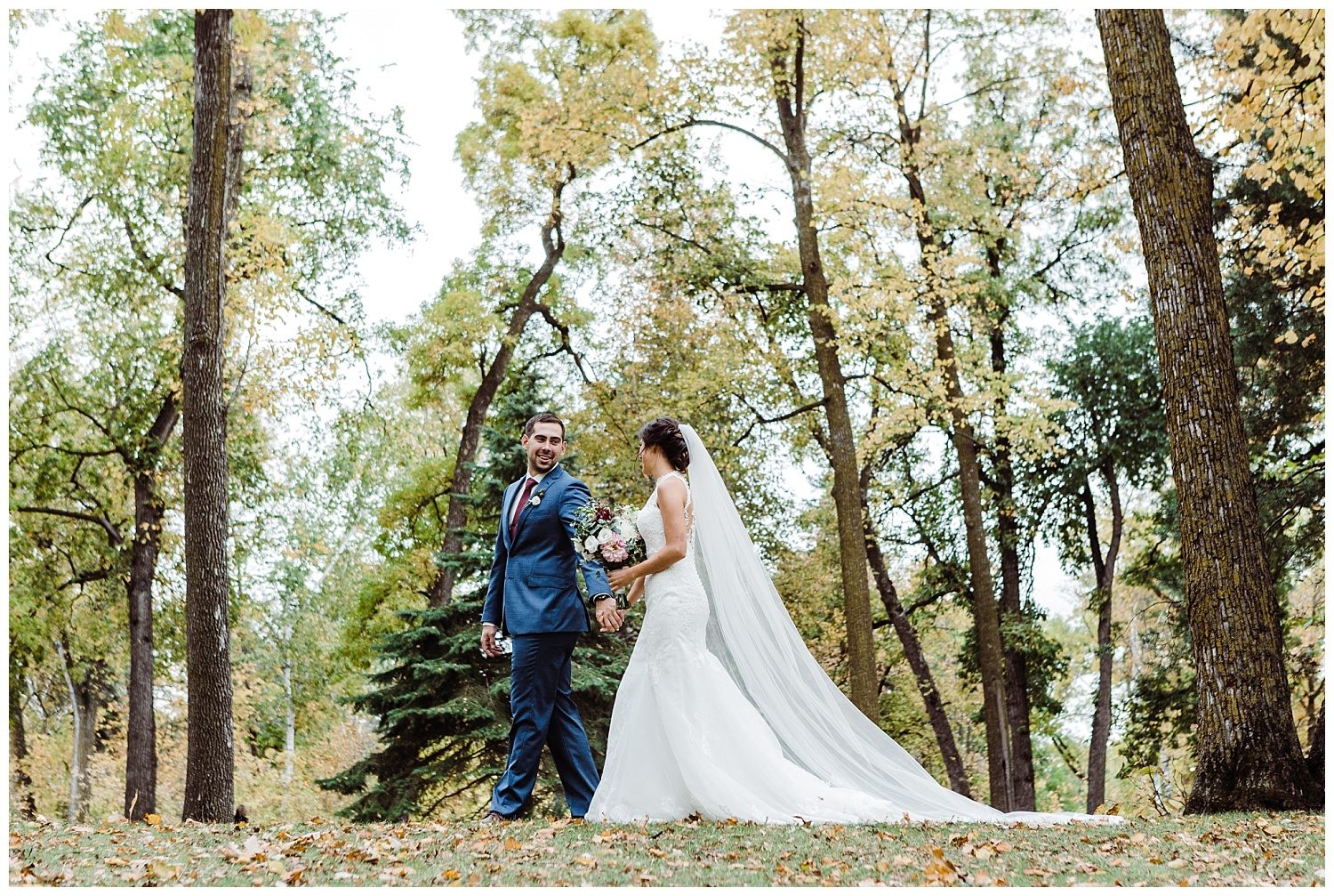 autumn st.vital park wedding winnipeg fall niakwa