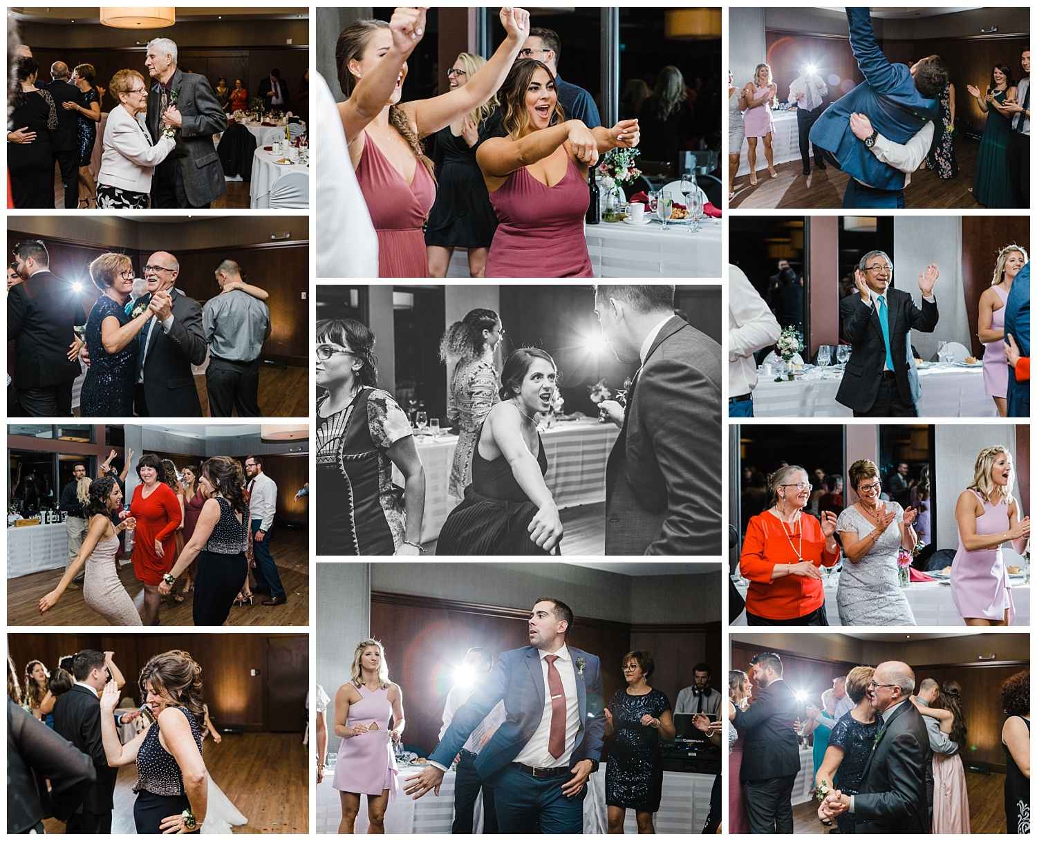 autumn reception party dance wedding winnipeg fall niakwa