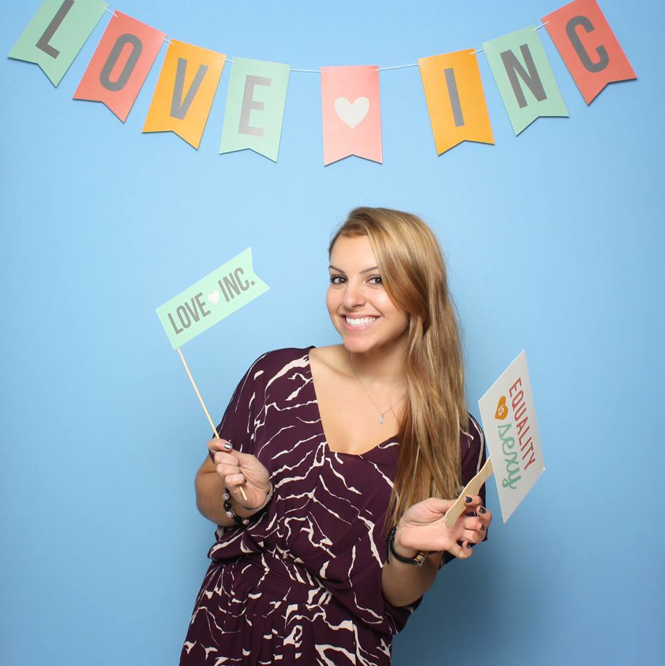 At the launch party for  Love Inc.  magazine, the first digital wedding magazine catering to both straight and same-sex couples.