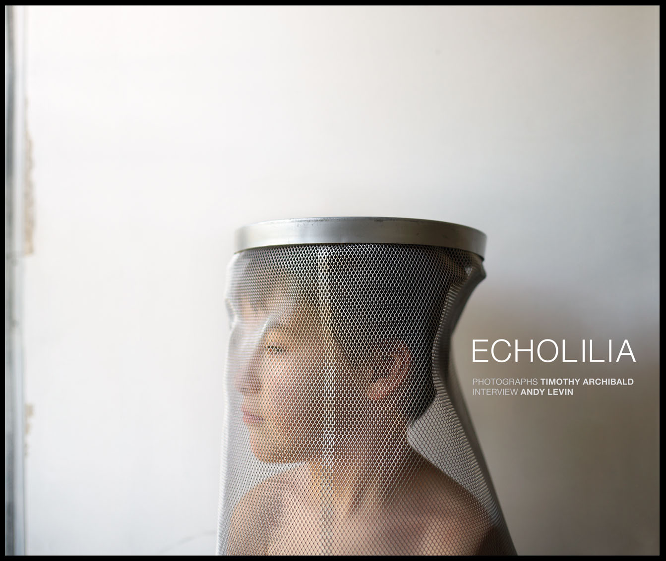 "ECHOLILIA / Sometimes I wonder.  Photographs by Timothy Archibald. Interview by Andy Levin  Echo Press, San Francisco, CA, 2010. 70 pp., 43 color plates, 13½x11""."