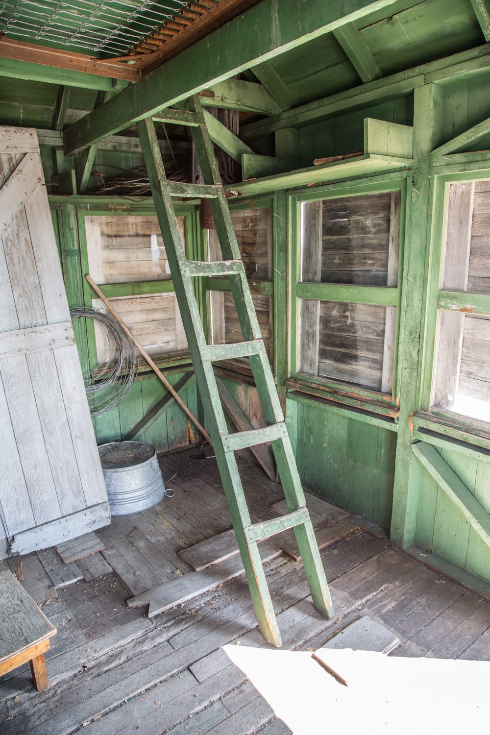 Inside the Cupola Style Lookout