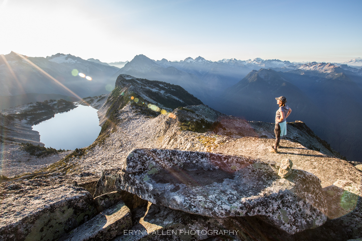 Morning at Hidden Lake Lookout with my amazing friend Becca who is always up for an adventure.