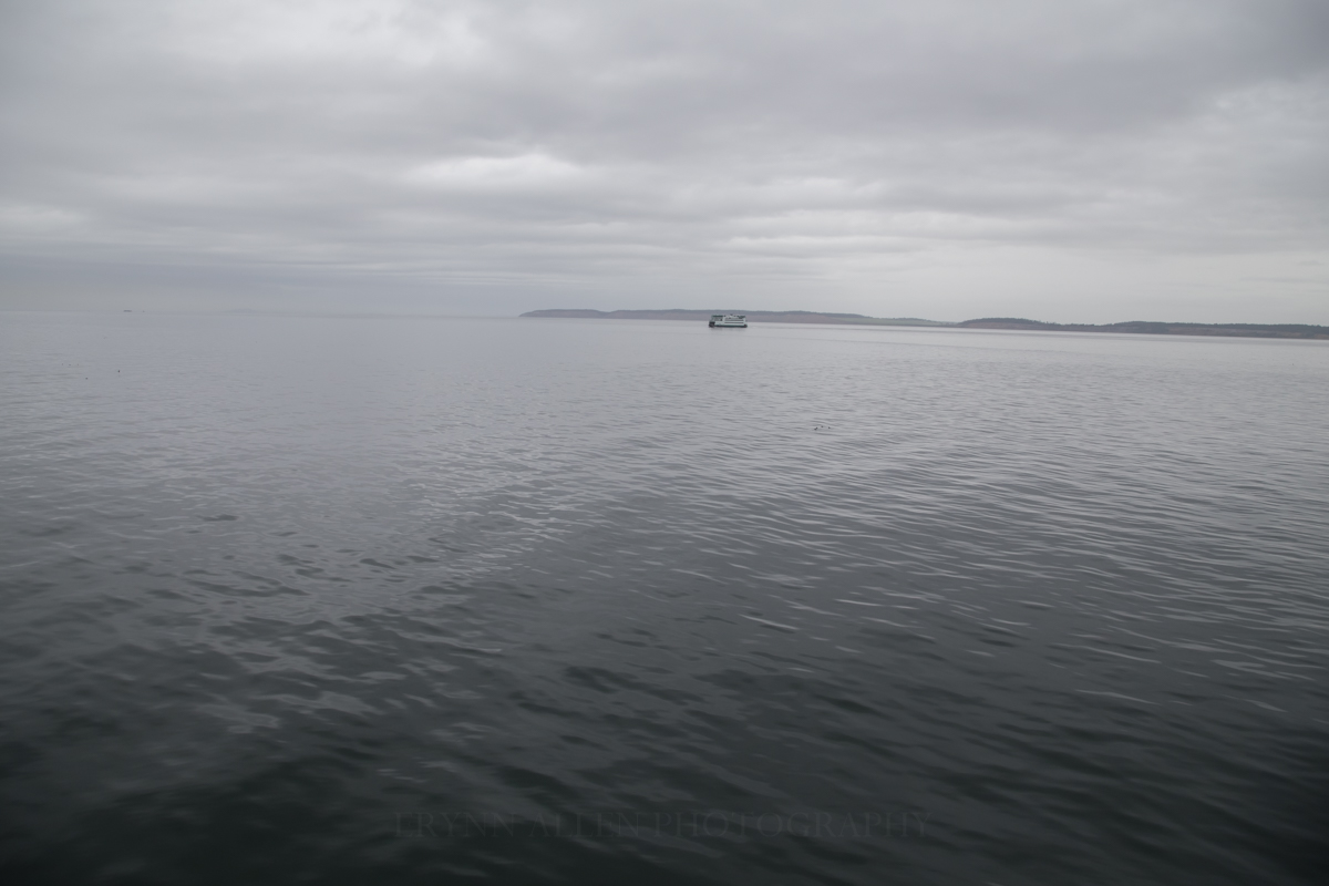 Ferry headed from Coupeville