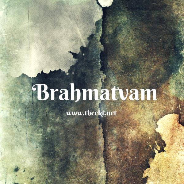 Brahmatvam by The Cocoknot Theori