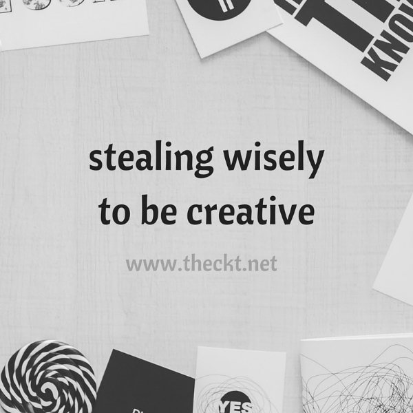 creative steal wisely the cocoknot theori