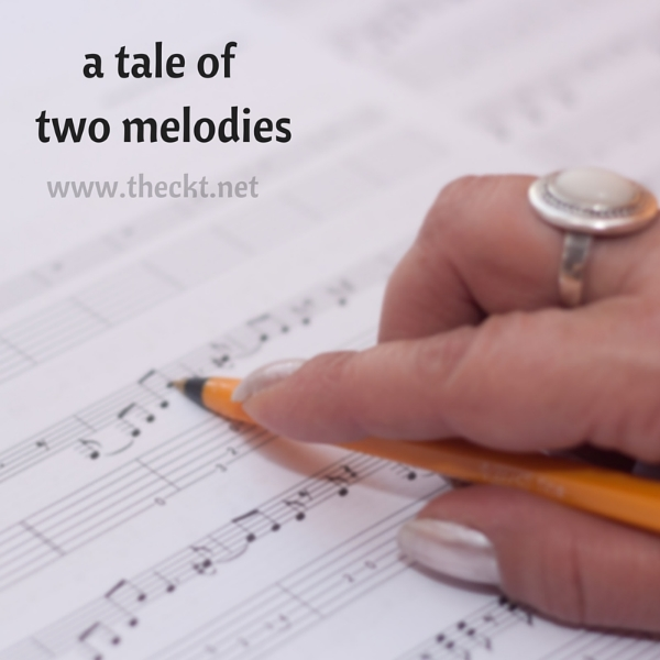 a tale of two melodies the cocoknot theori