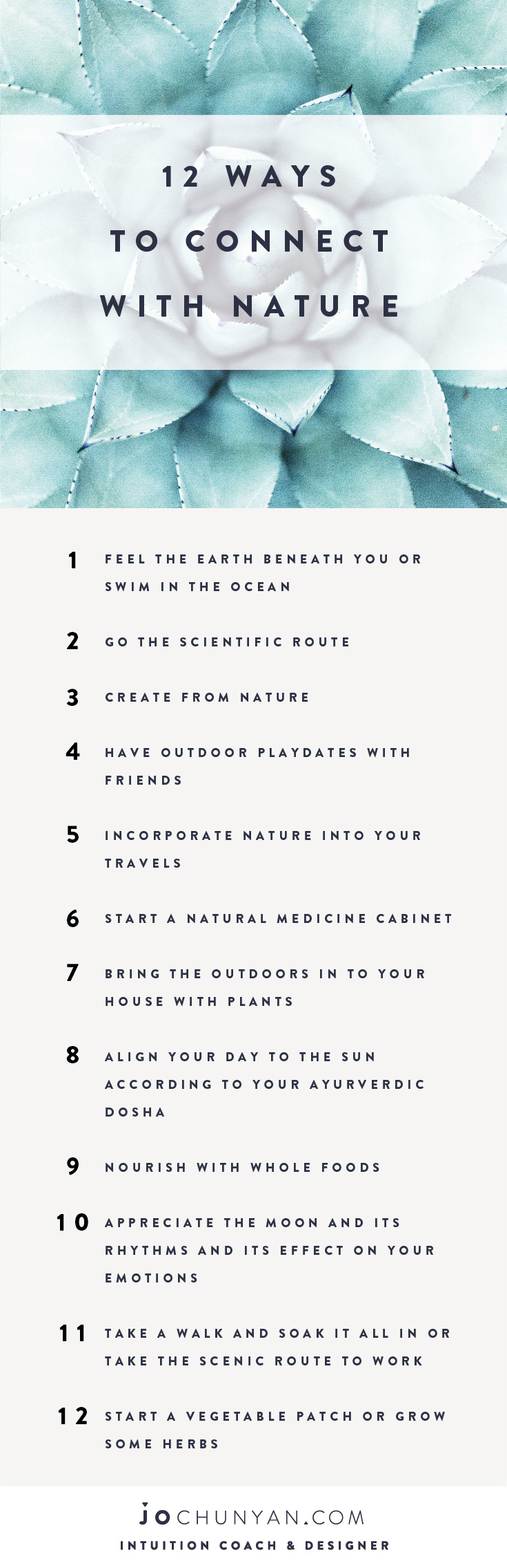 Jo-ChunYan - 12 Ways To Connect With Nature 2