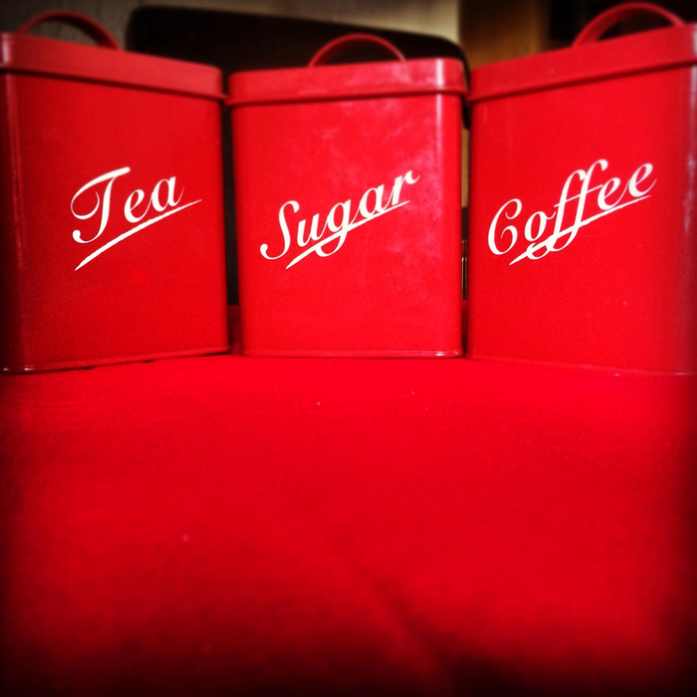 tea, sugar, coffee