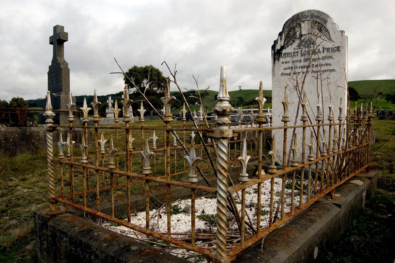 untitled #22  [foster cemetery, foster, victoria, australia, 2006]