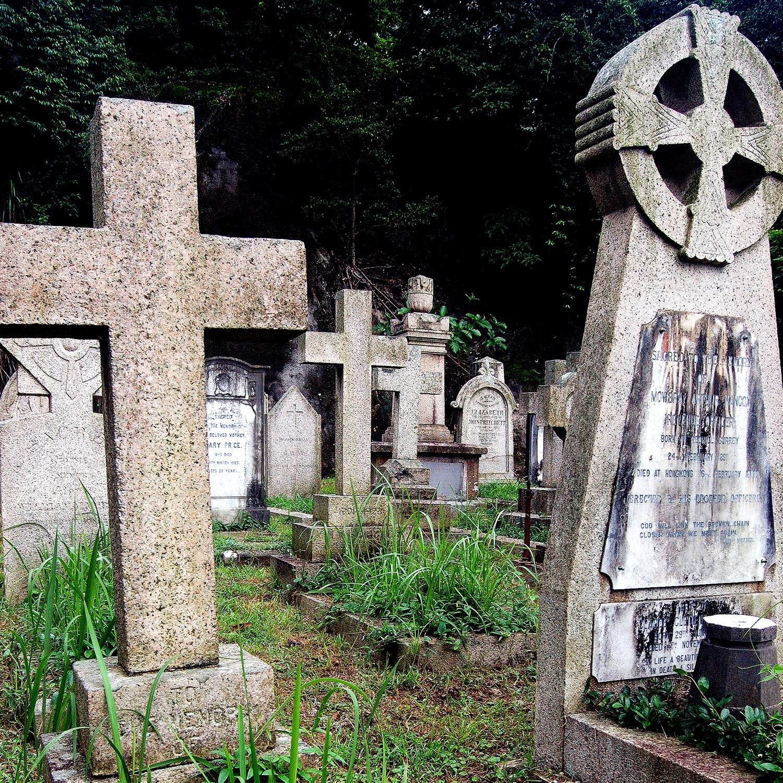 untitled #121  [hong kong protestant cemetery, happy valley, hong kong, 2006]